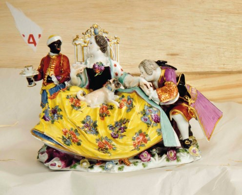 A MEISSEN GROUP OF 'THE HAND K