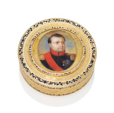 A LOUIS XVI PARCEL-ENAMELLED G