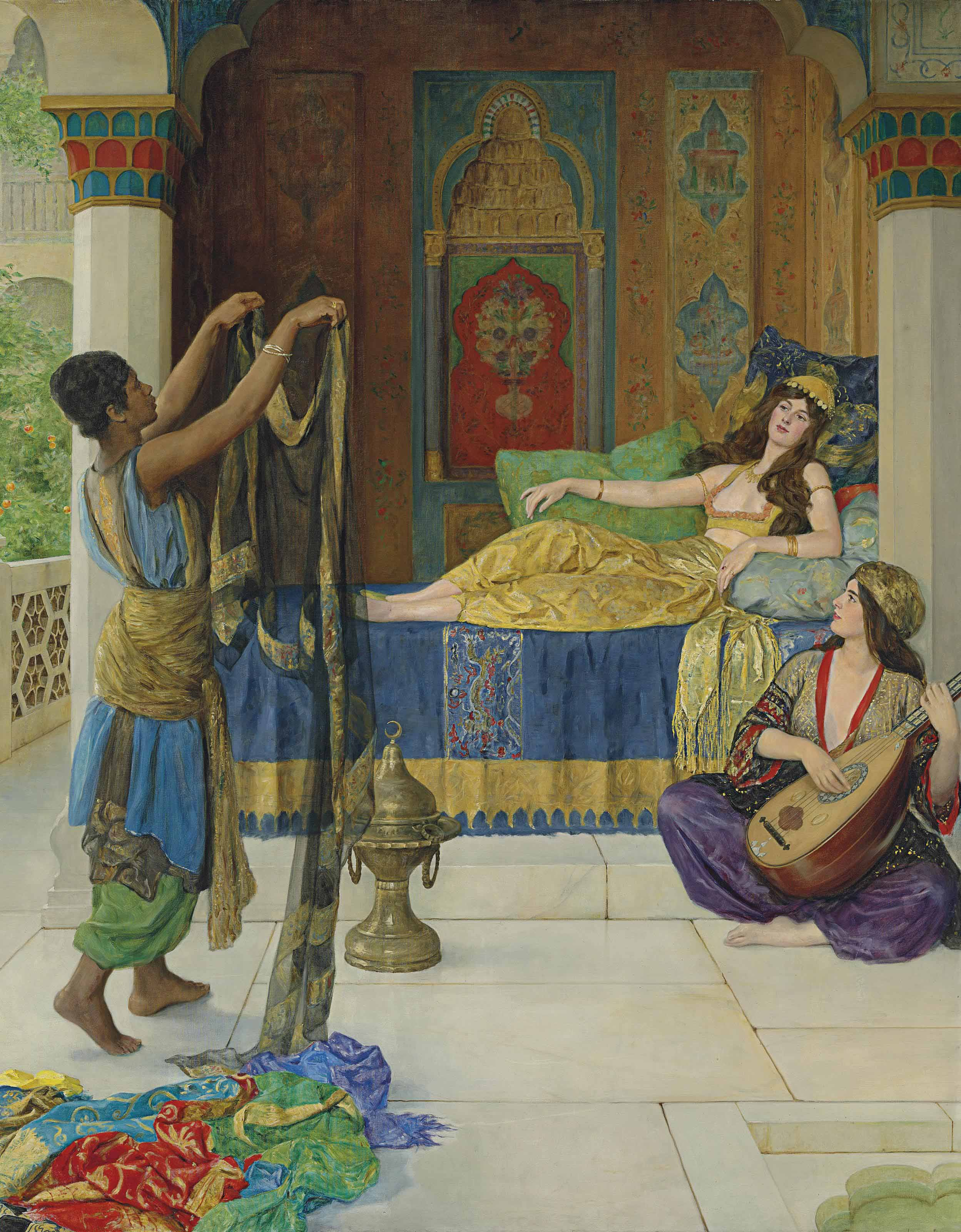 Myrrh, Aloes and Cassia