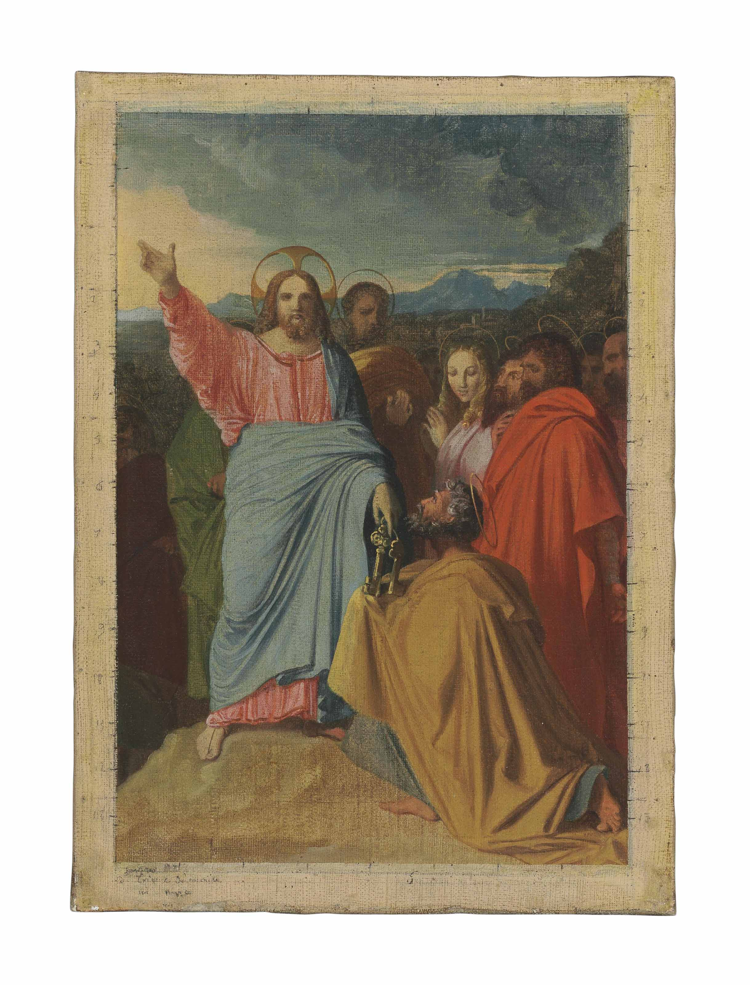 Christ delivering the Keys to St. Peter