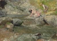 Al torrente sui monti di Stresa