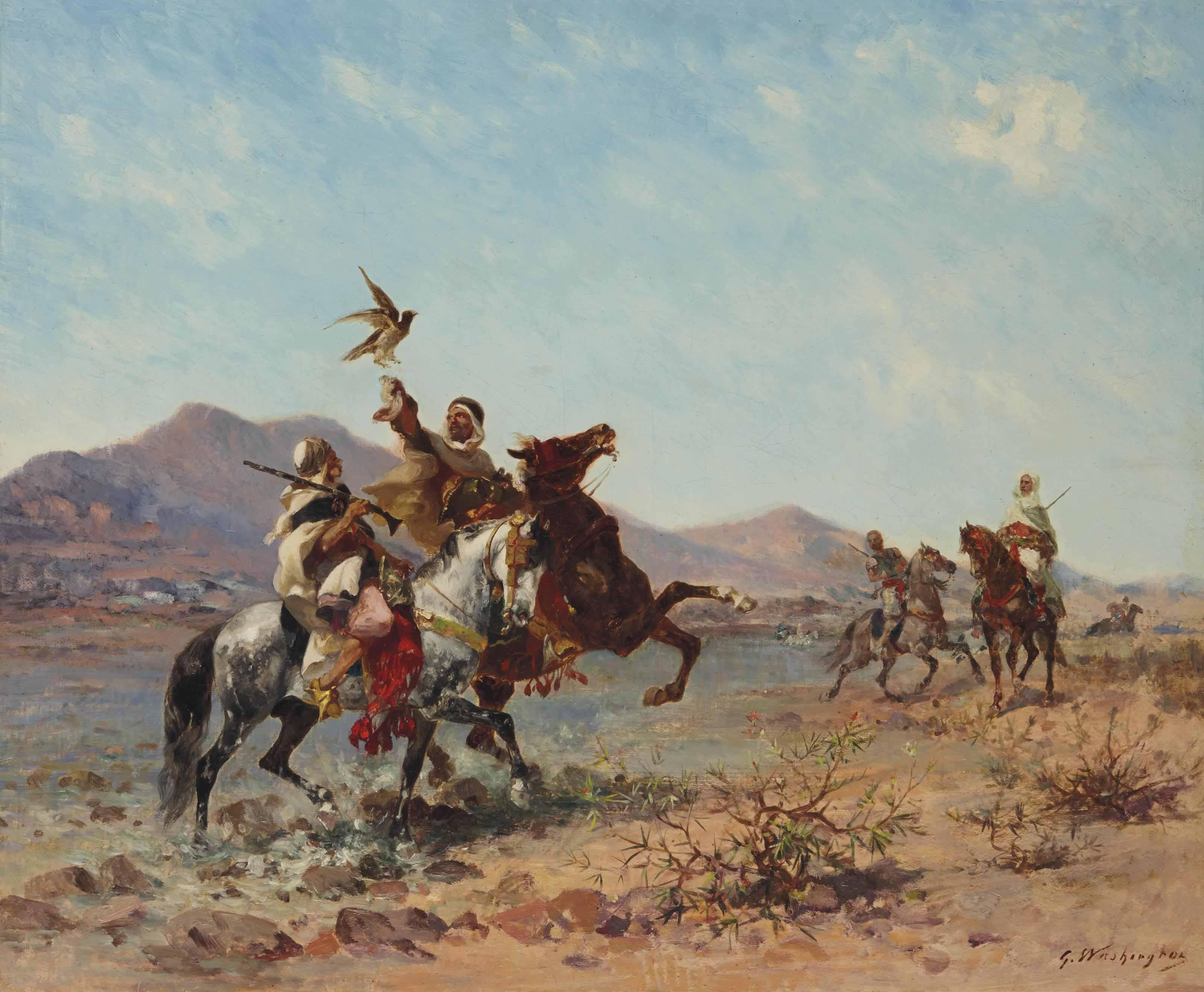La Chasse au Faucon