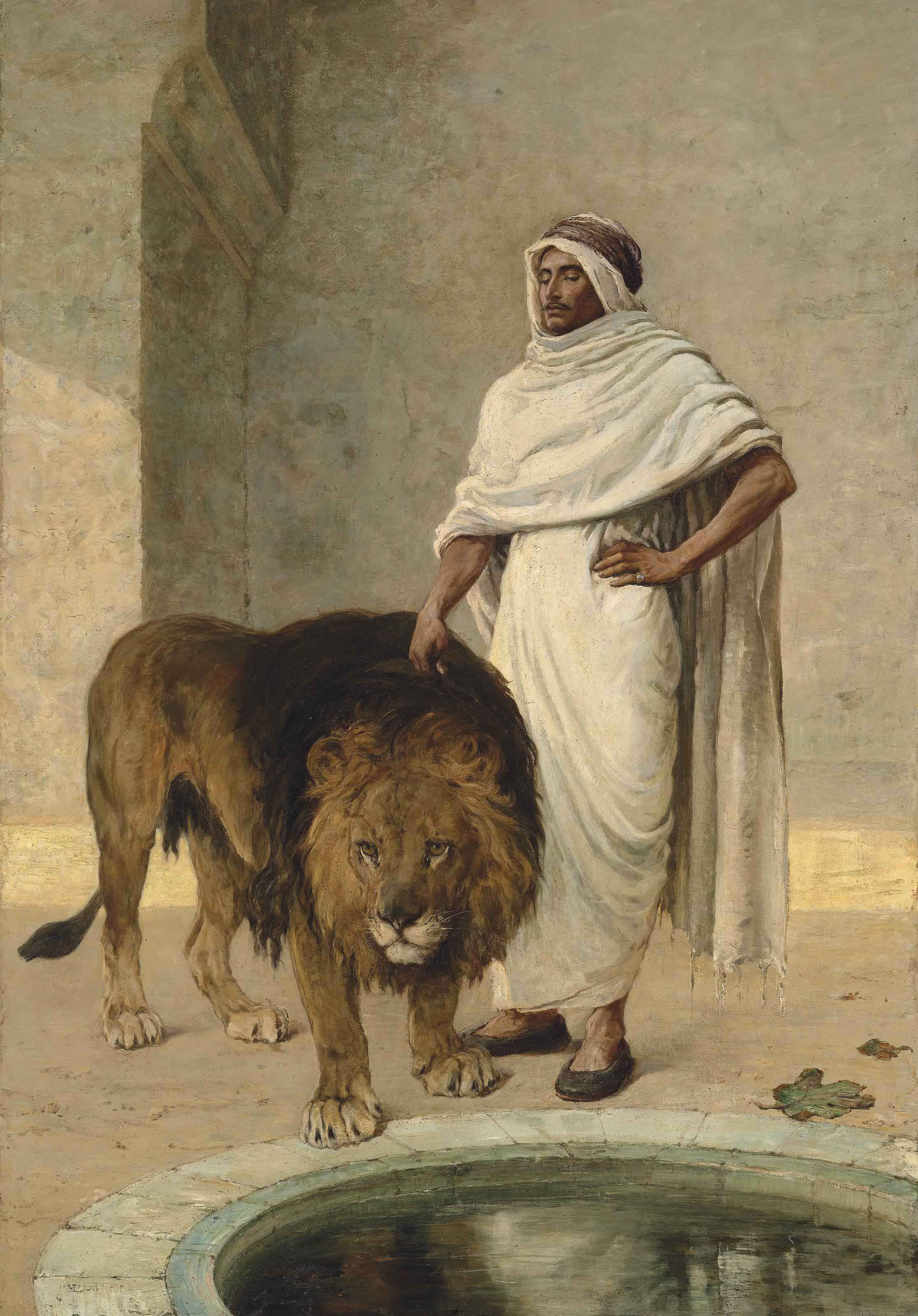 Ahmed ben Avuda and the Holy Lion