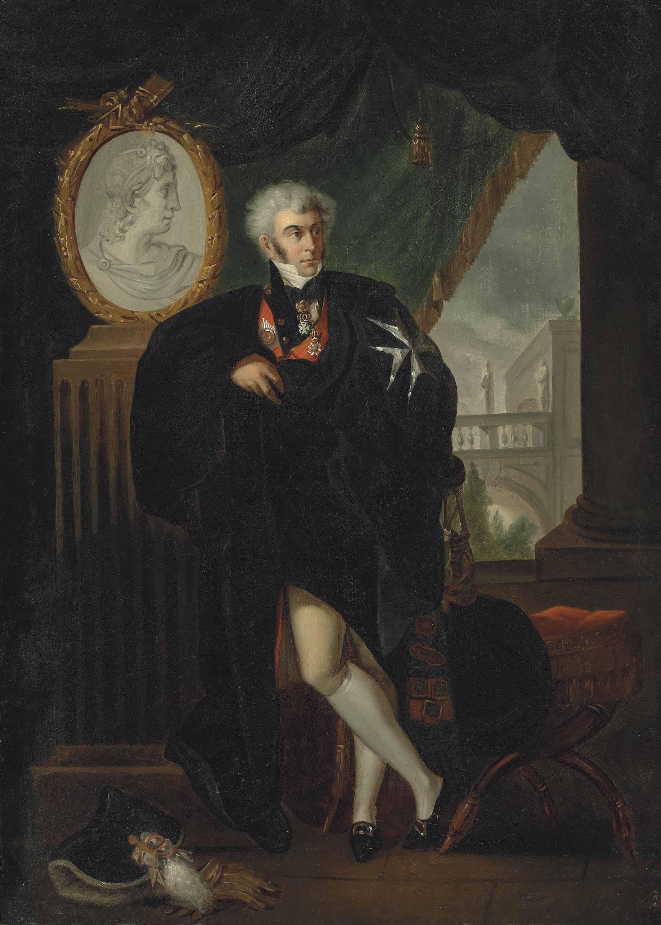 Portrait of Dmitrii Naryshkin (1758-1838)