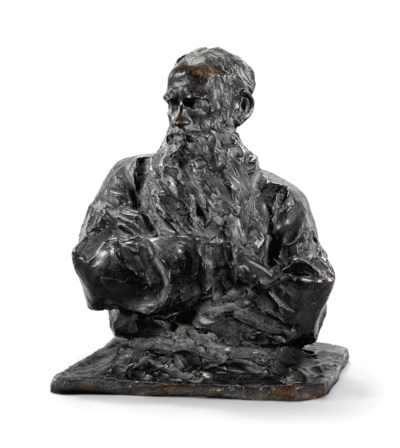 BUST OF COUNT LEV TOLSTOY (182