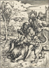 Samson rending the Lion