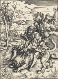 Samson rending the Lion