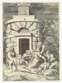 The Lamentation before the Tomb