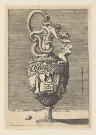 Enea Vico (1523-1567) after Ra