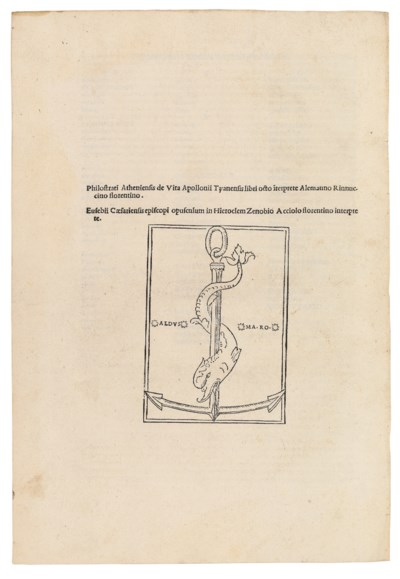 PHILOSTRATUS, Flavius (c. 170/