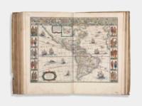 BLAEU, Willem (1571-1638) and Johan BLAEU (1596-1673). Novus Atlas, Das ist, Welt-beschreibung, Mit schönen newen außführlichen Land-Taffeln in Kupffer gestochen... Ander Theil. [Volume II. France, Spain and the Continents]. Amsterdam: Johann Blaeu, 1647.