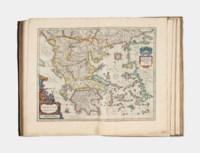 BLAEU, Willem (1571-1638) and Johannes BLAEU (1596-1673). Novus Atlas, Das ist, Welt-beschreibung, Mit schönen newen außführlichen Land-Taffeln in Kupffer gestochen…Ander Theil. [Volume III. Italy, Greece]. Amsterdam: Johannes Blaeu, 1647.