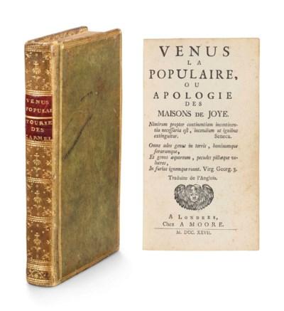 [MANDEVILLE, Bernard de (1670-