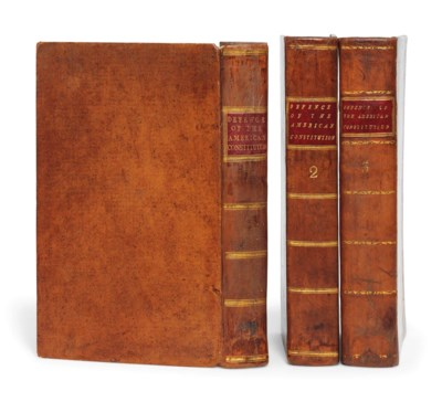 ADAMS, JOHN (1735-1826). A Def