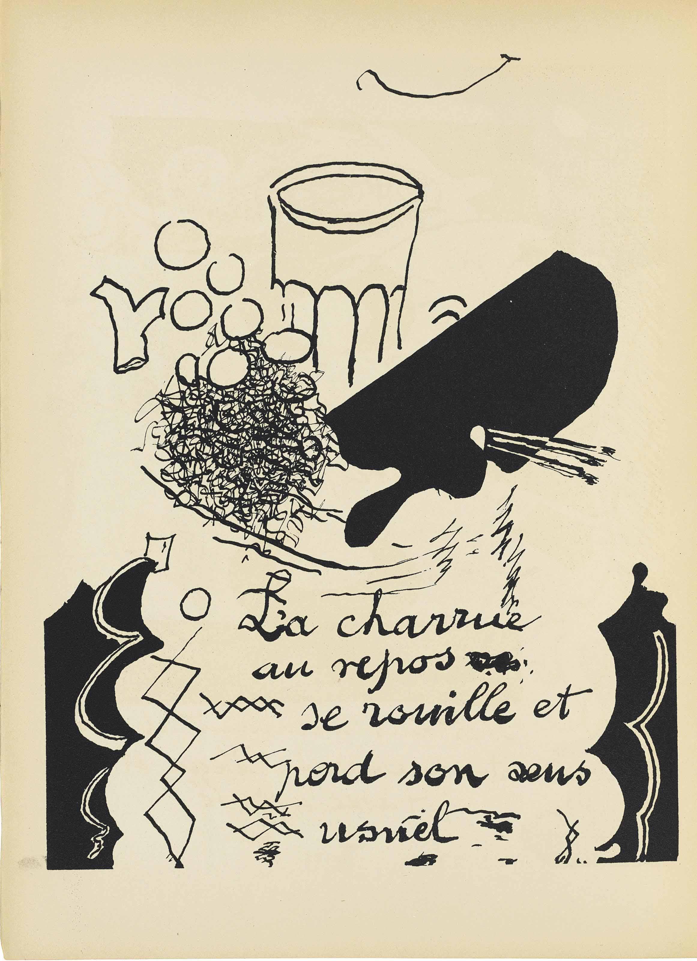 BRAQUE, Georges (1882-1963). C