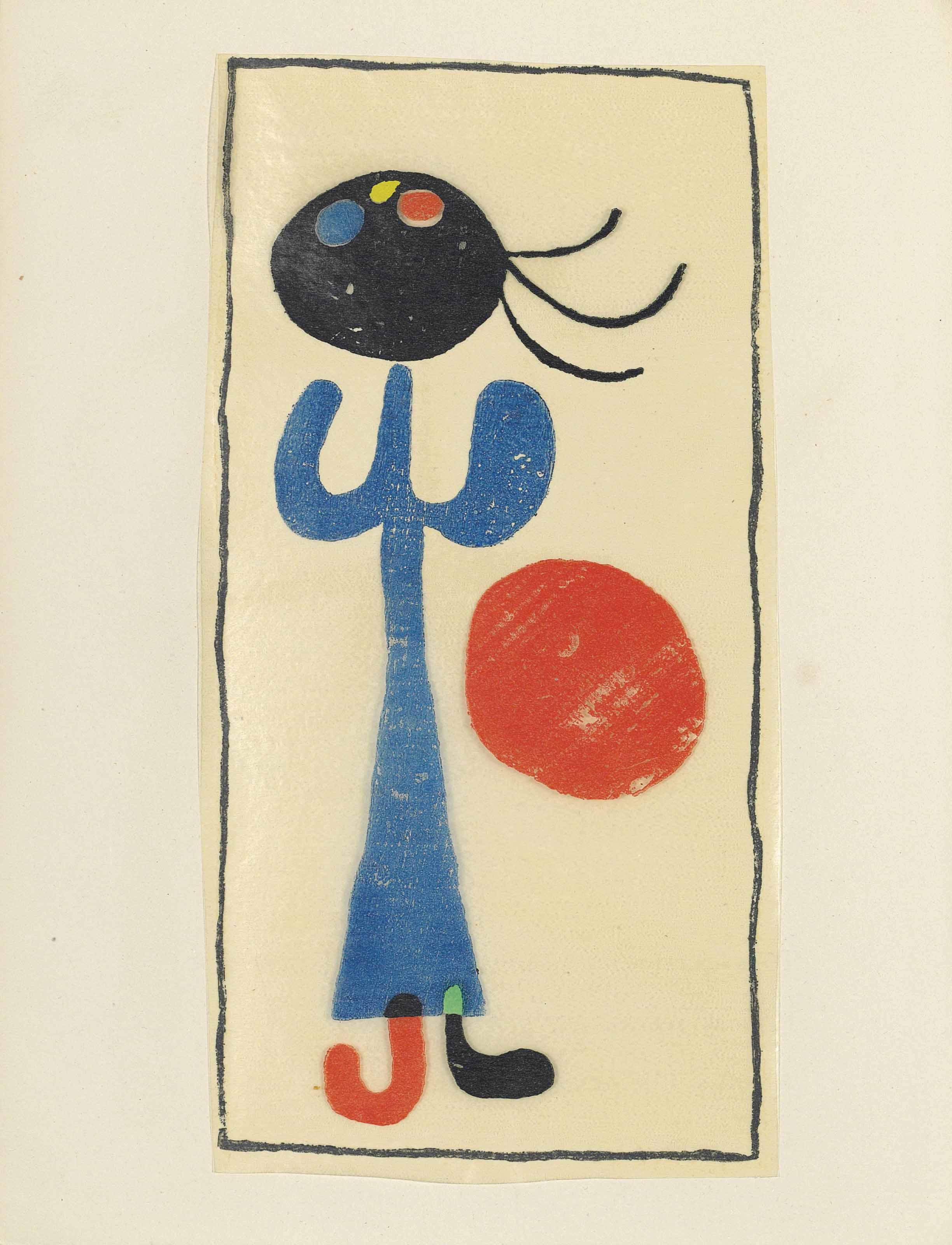 MIRÓ -- ÉLUARD, Paul (1895-195