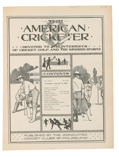 The American Cricketer. A Jour