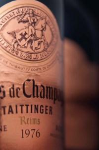 Taittinger Comtes de Champagne Rosé 1976