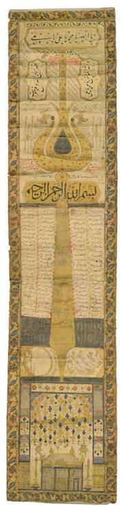 A SHI'A PILGRIMAGE SCROLL