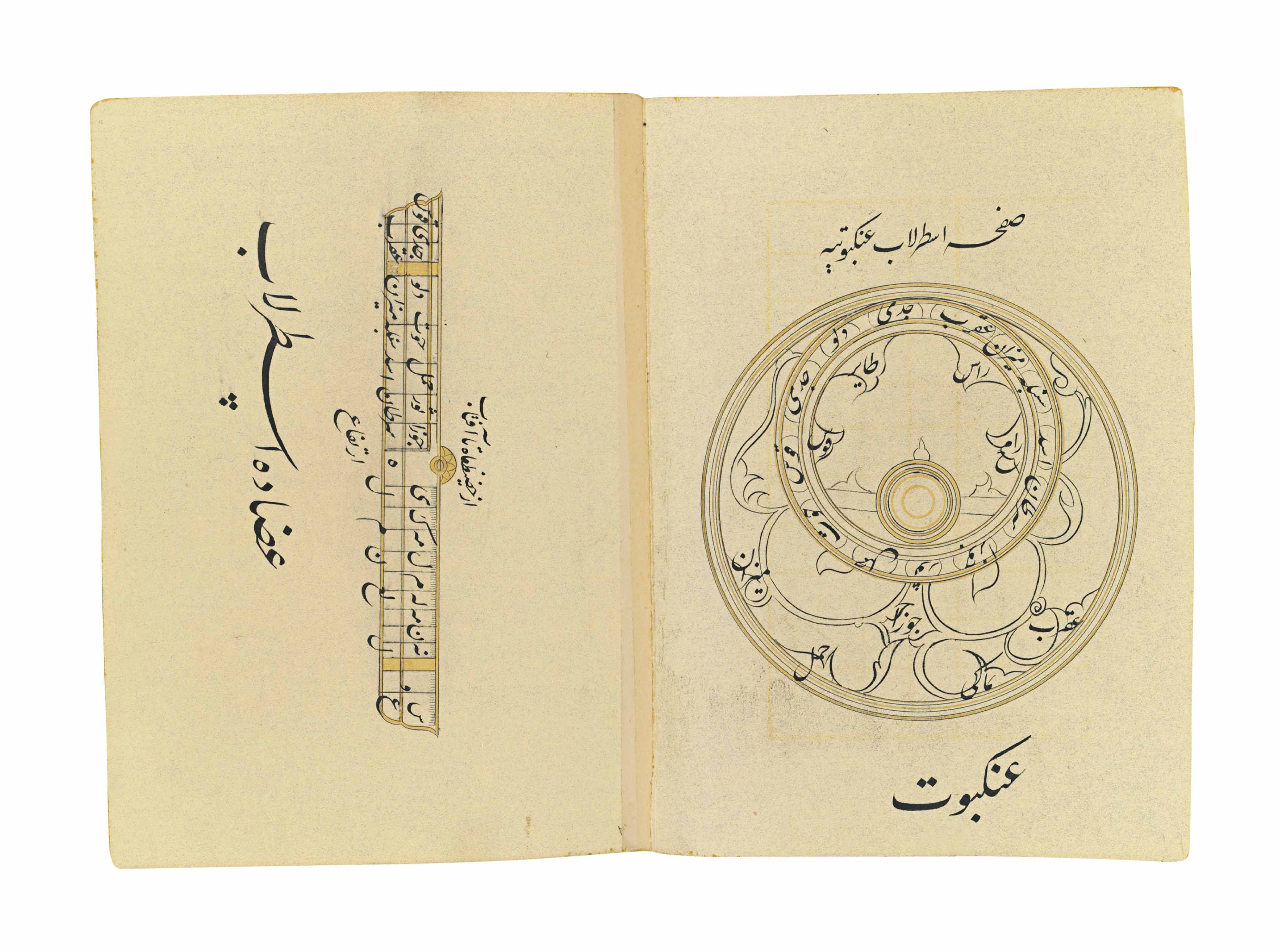 A MANUSCRIPT ON THE WORKINGS OF THE ASTROLABE