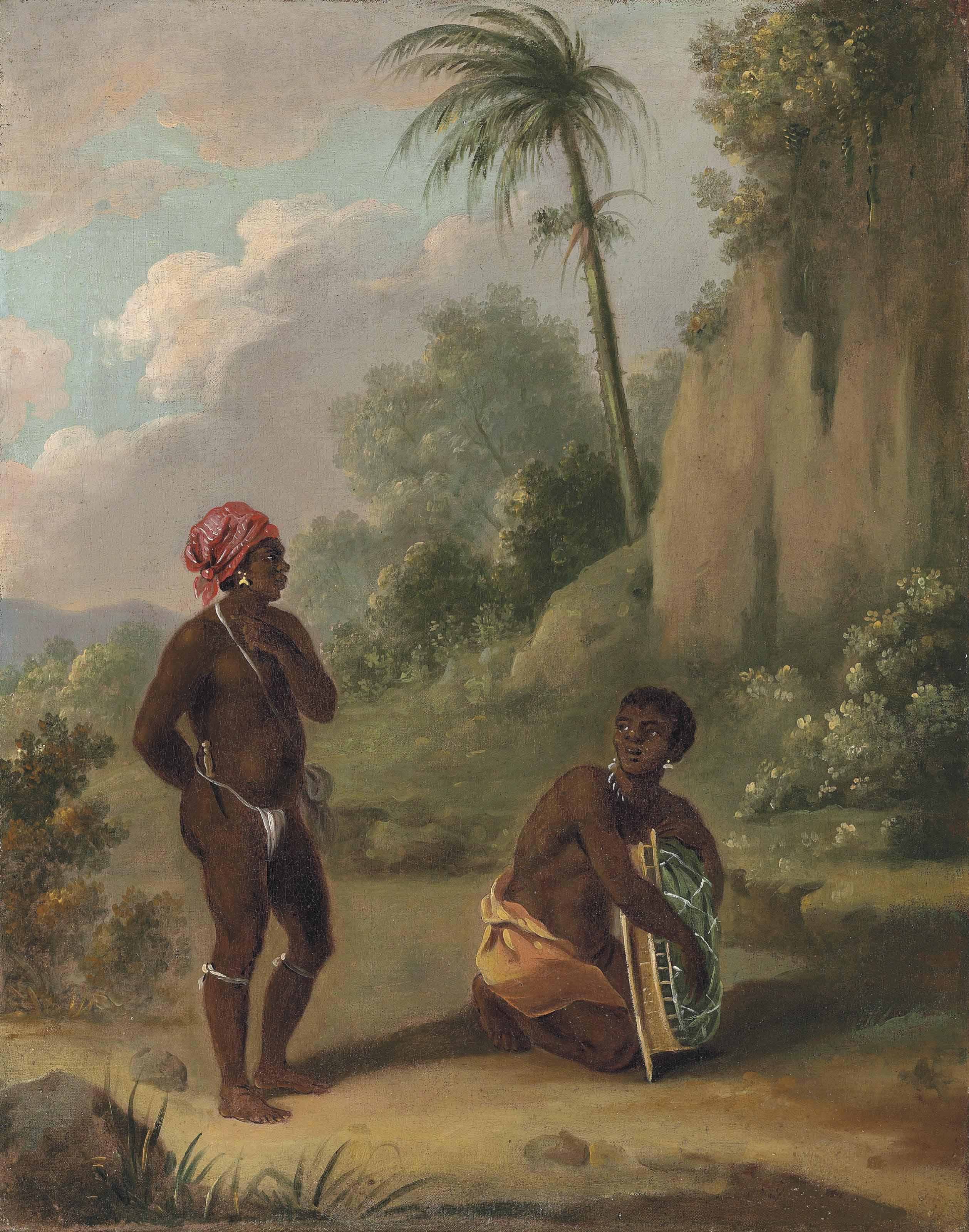 Black Caribs of St Vincent