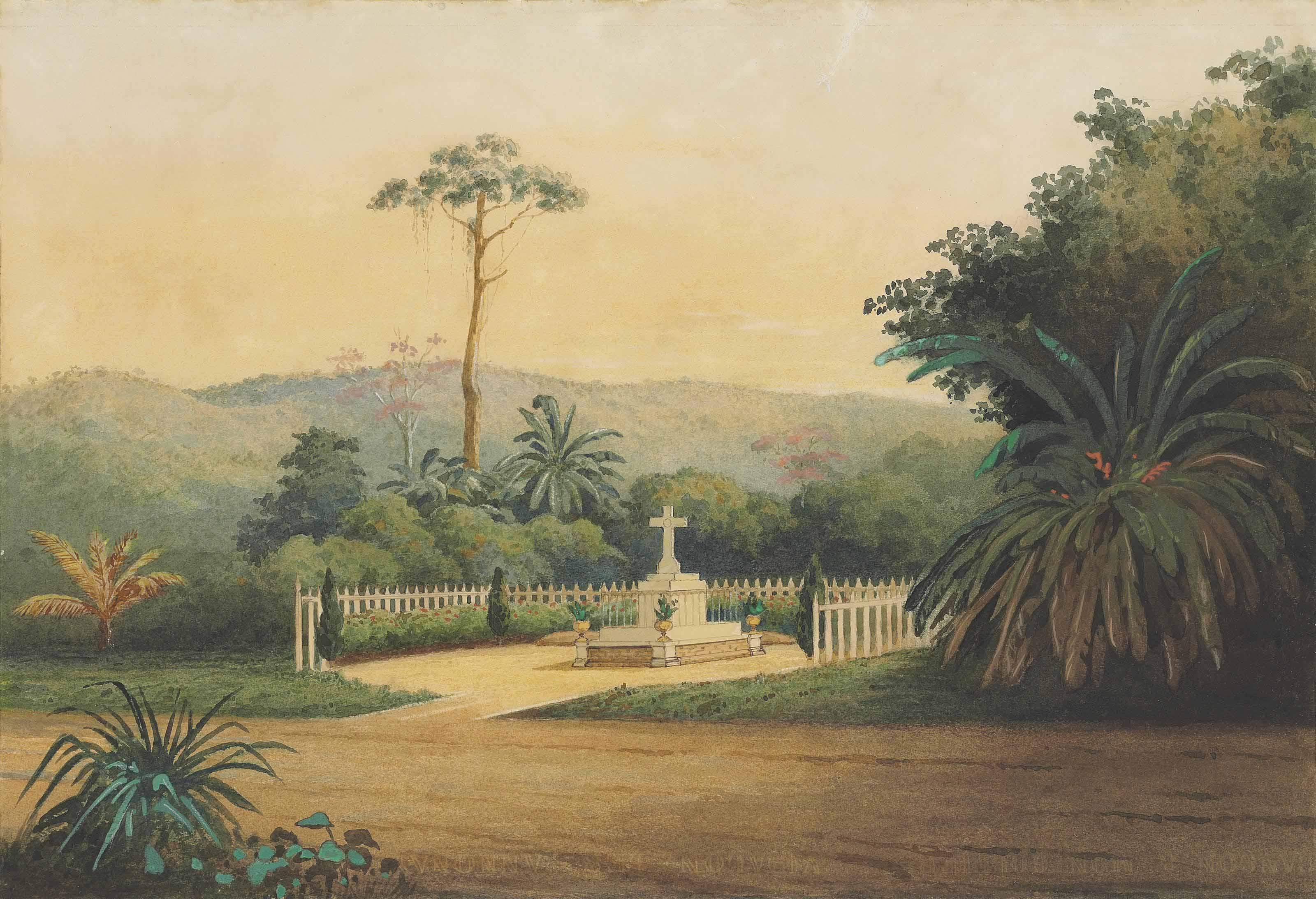 Tomb, Macarique Valley, Trinidad