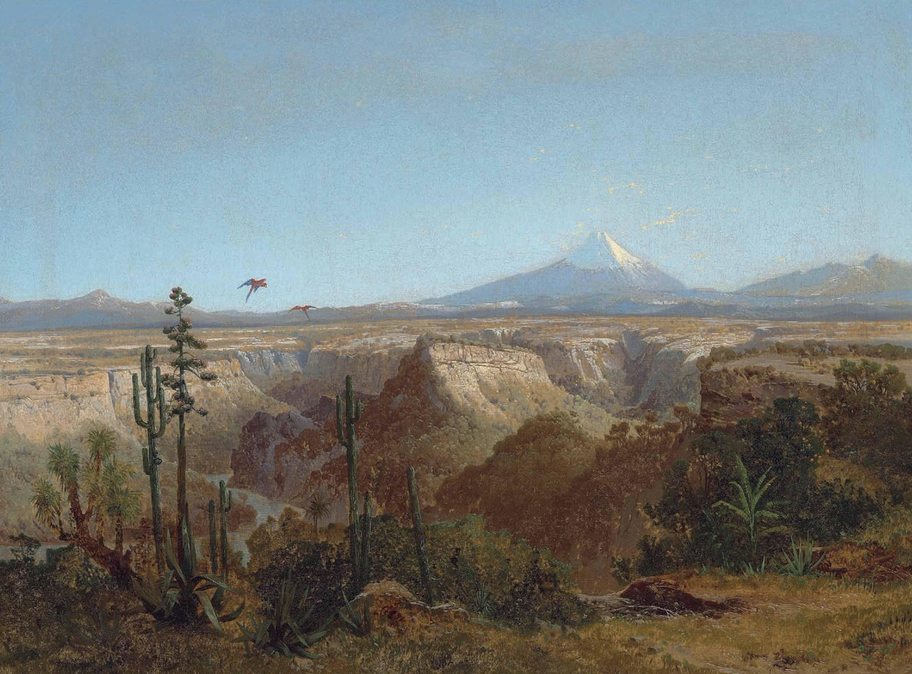 The Atacama desert, Chile, with the Licancabur volcano beyond