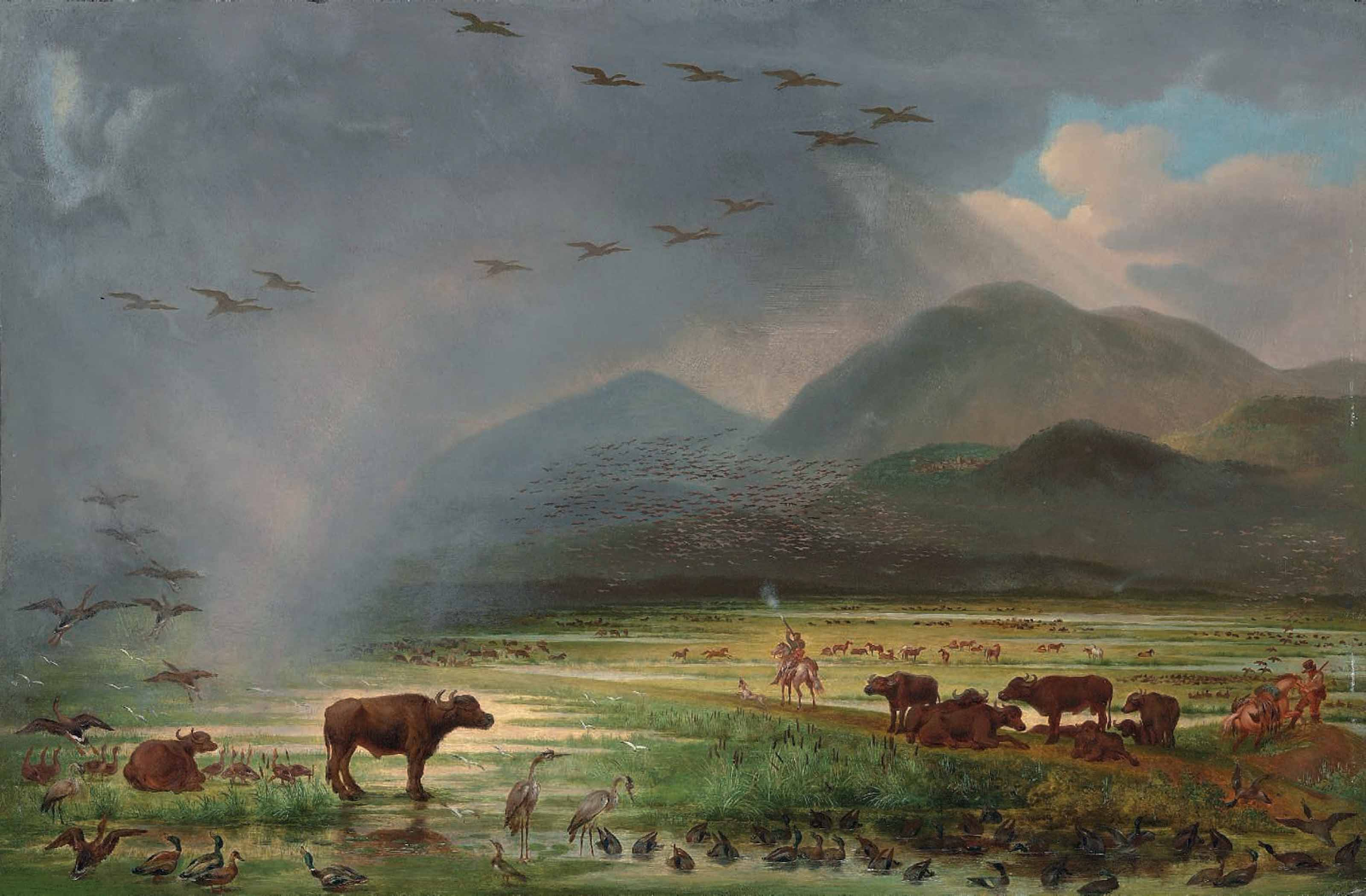 Attributed to George Catlin (1
