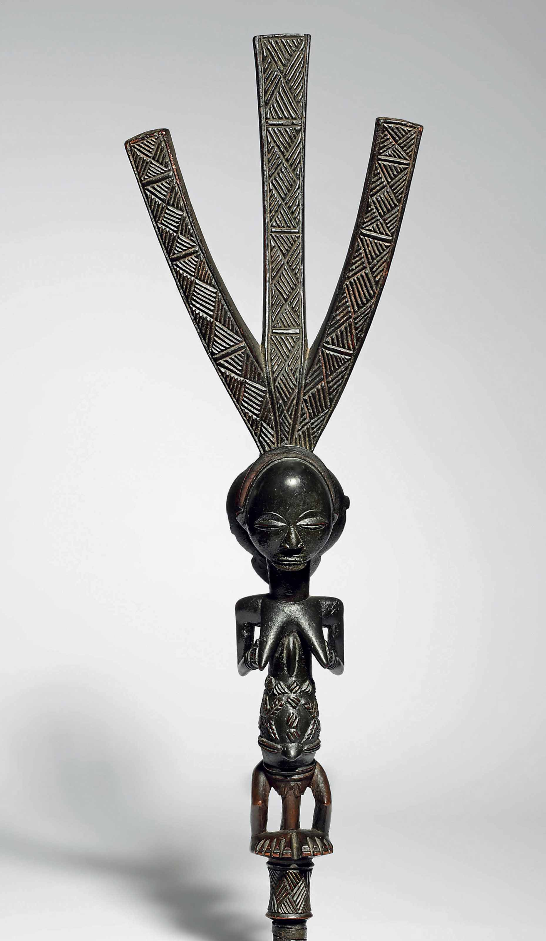 Luba Female Figure for a Bowstand