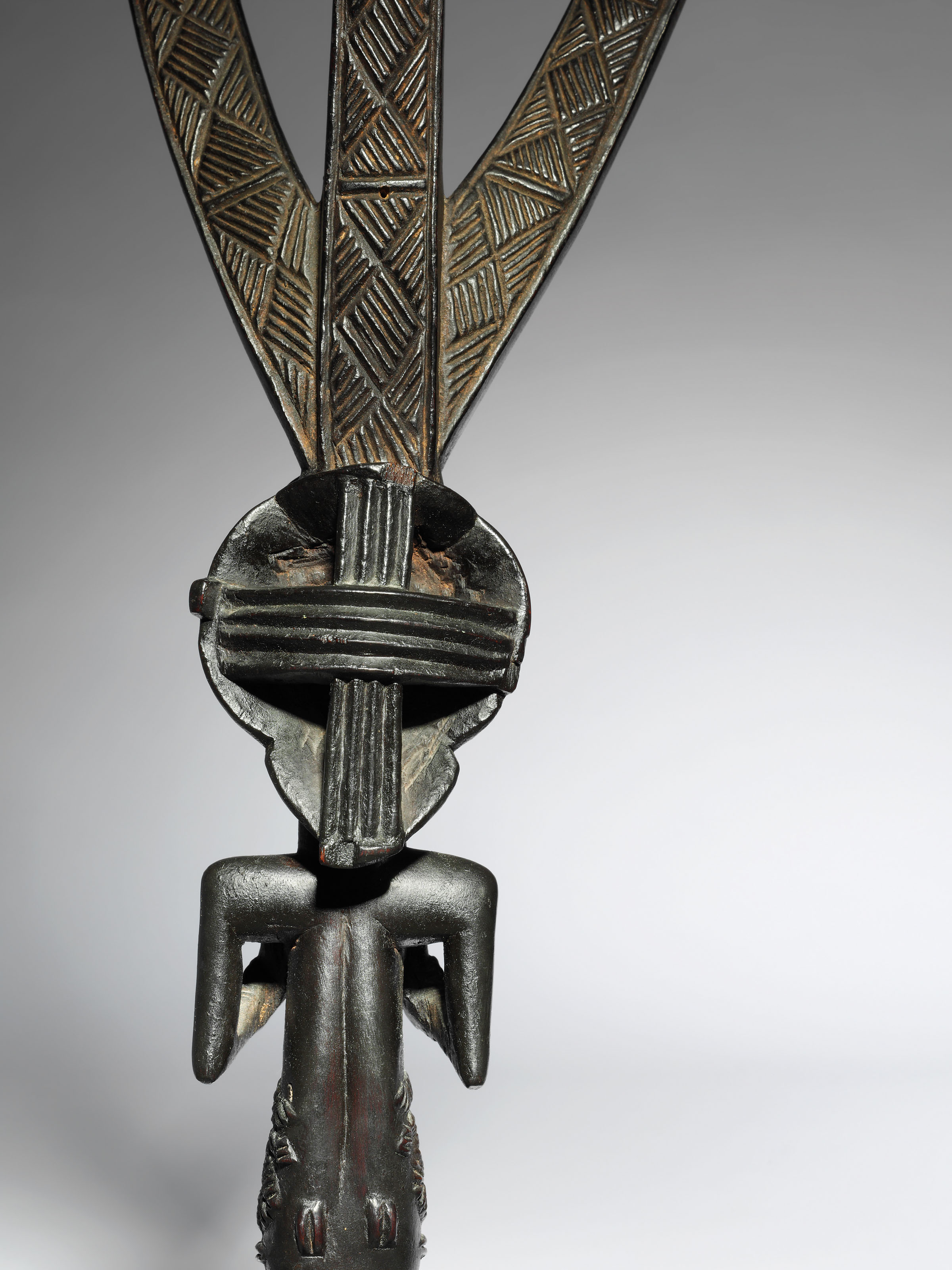 A Luba Female Figure for a Bowstand
