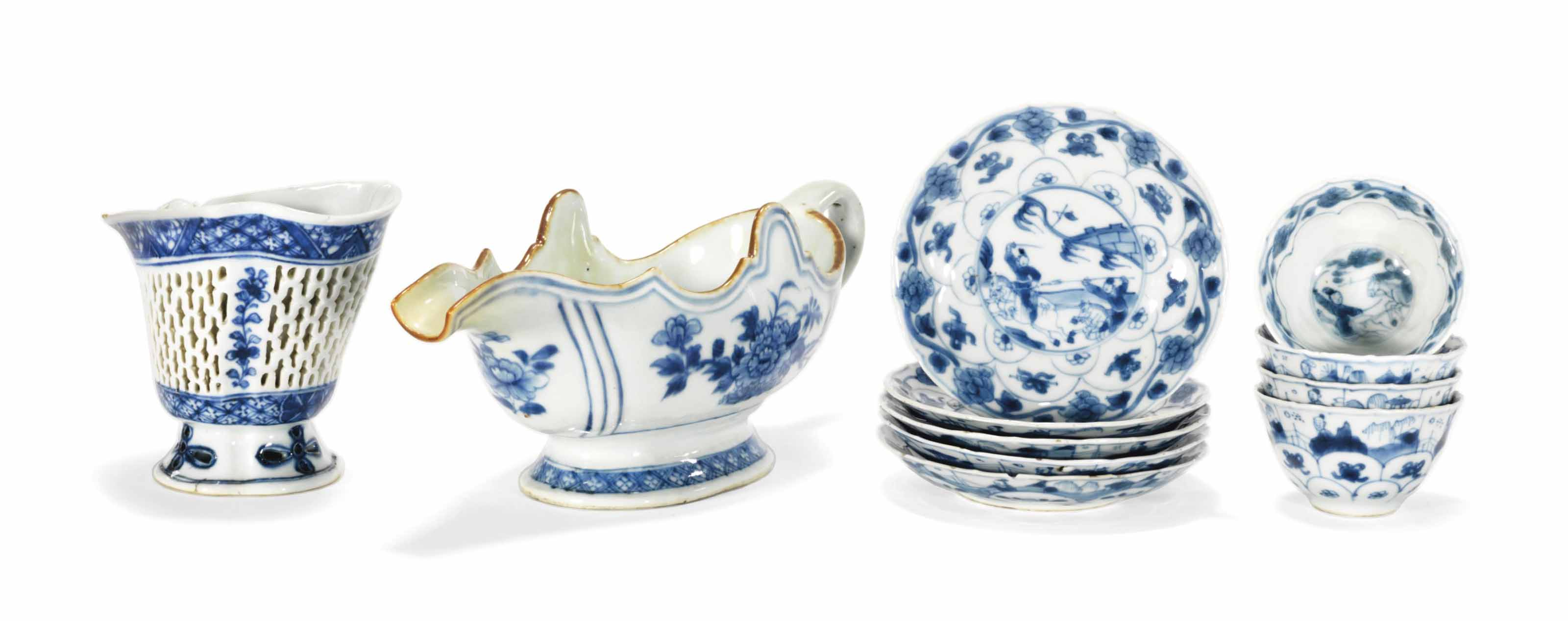 A CHINESE BLUE AND WHITE LIBAT