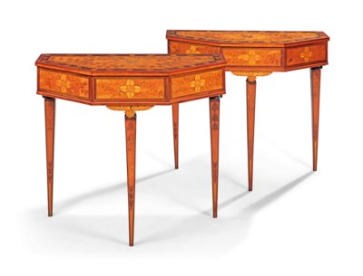 A PAIR OF PORTUGUESE ROSEWOOD,