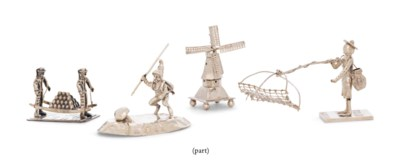 A GROUP OF TOY MINIATURES