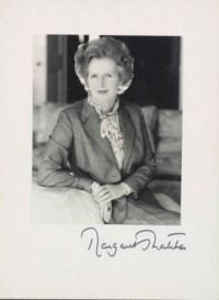 Margaret Thatcher, 1981