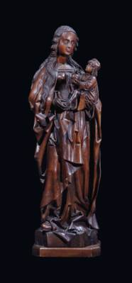 AN OAK GROUP OF THE VIRGIN AND