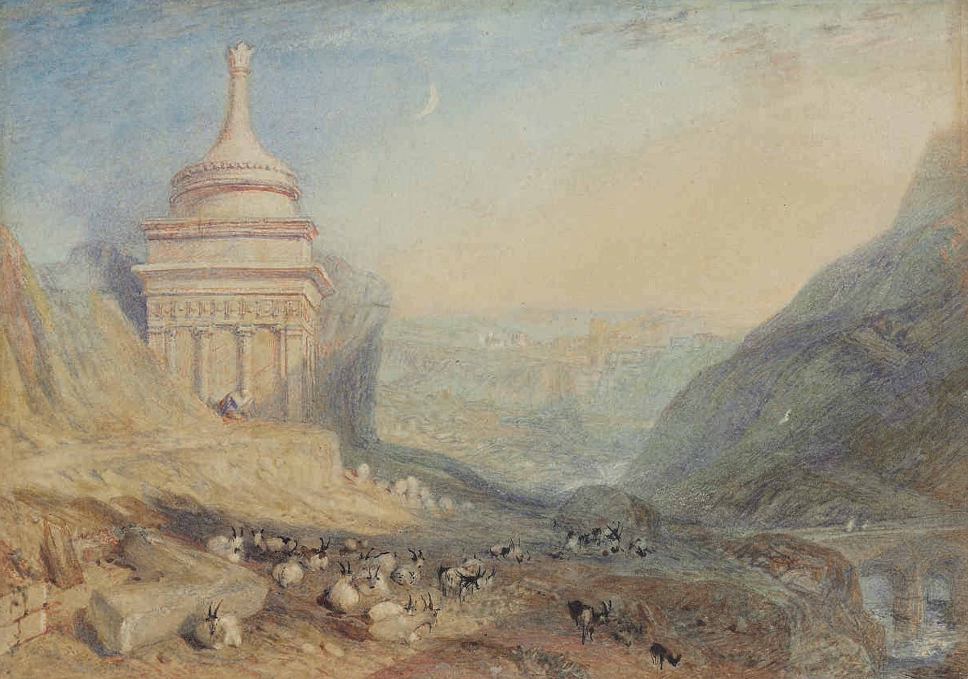 The Valley of the Brook at Kidron, Jerusalem (Absalom's Tomb)