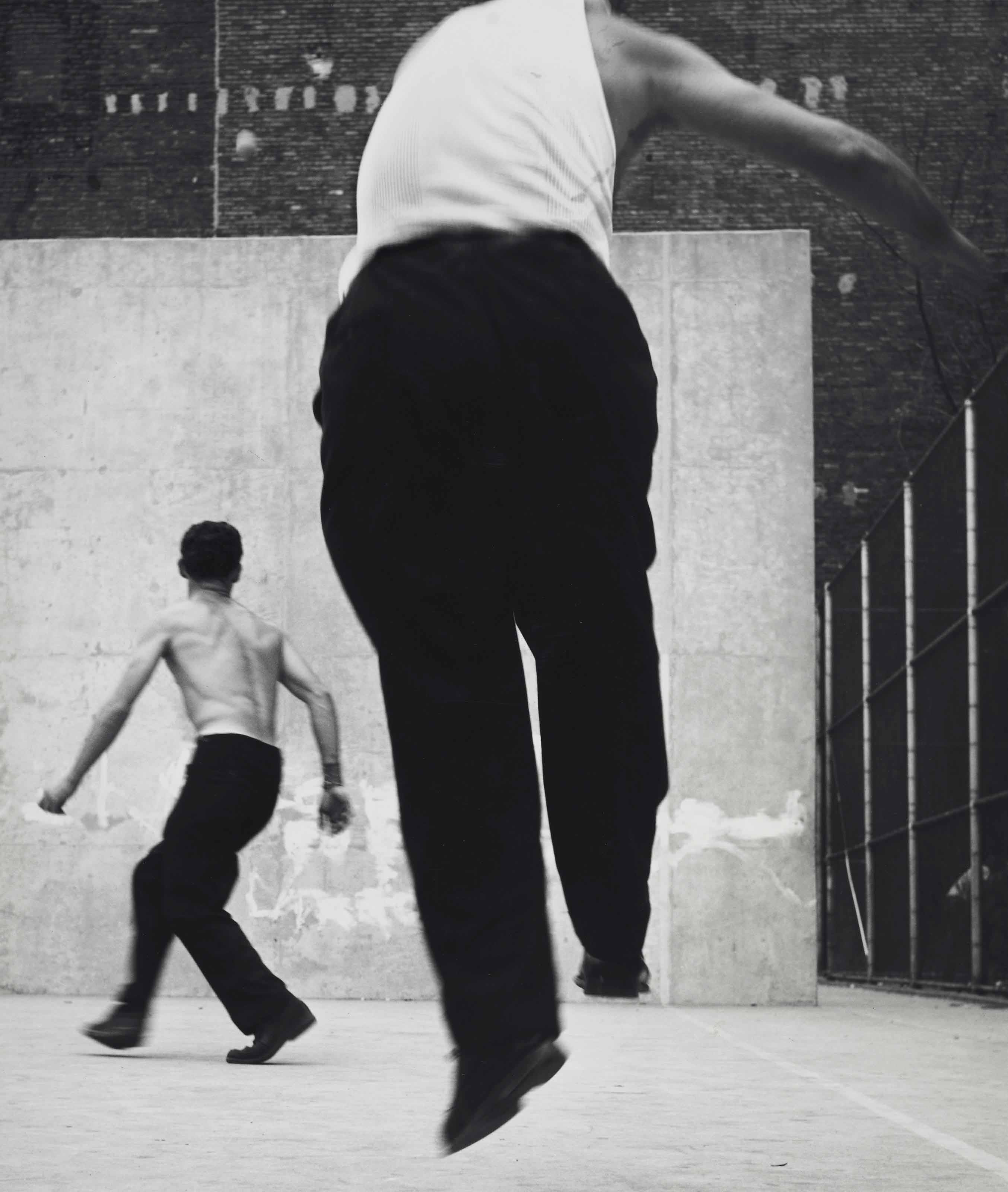 Handball Players, Houston Street, New York, 1969
