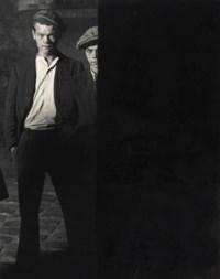 Les Mauvais Garçons, deux voyous, Place d'Italie, Paris, 1932