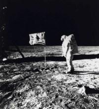 Astronaut Aldrin, 1969