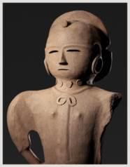 A Haniwa Figure of a Woman