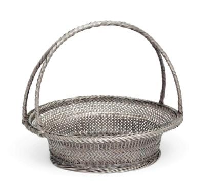 A Fine Silver Basket