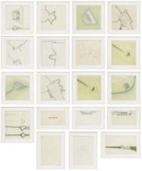 A set of eighteen  Architectural Drawings for 'Manoir d'Angoussart, Bierges, Belgium'