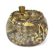 A Fine Iron Komai Box