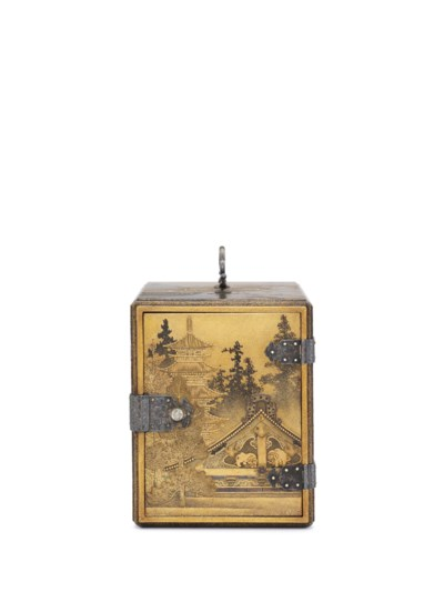 A Lacquer Kodansu [Incense Cab