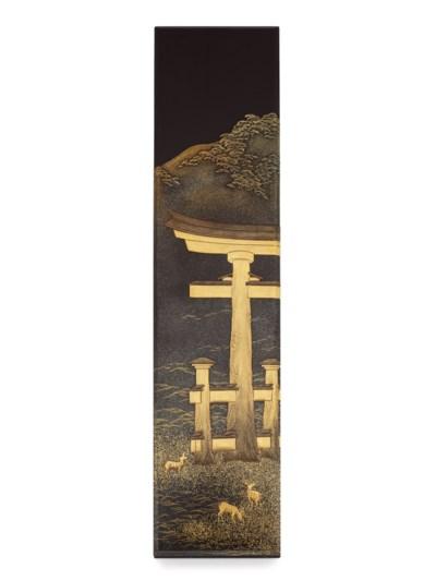 A Lacquer Fubako [Letter Box]