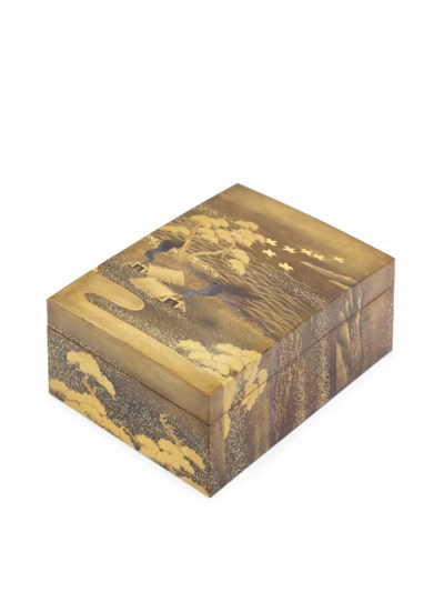 A Lacquer Kobako [Small Box]