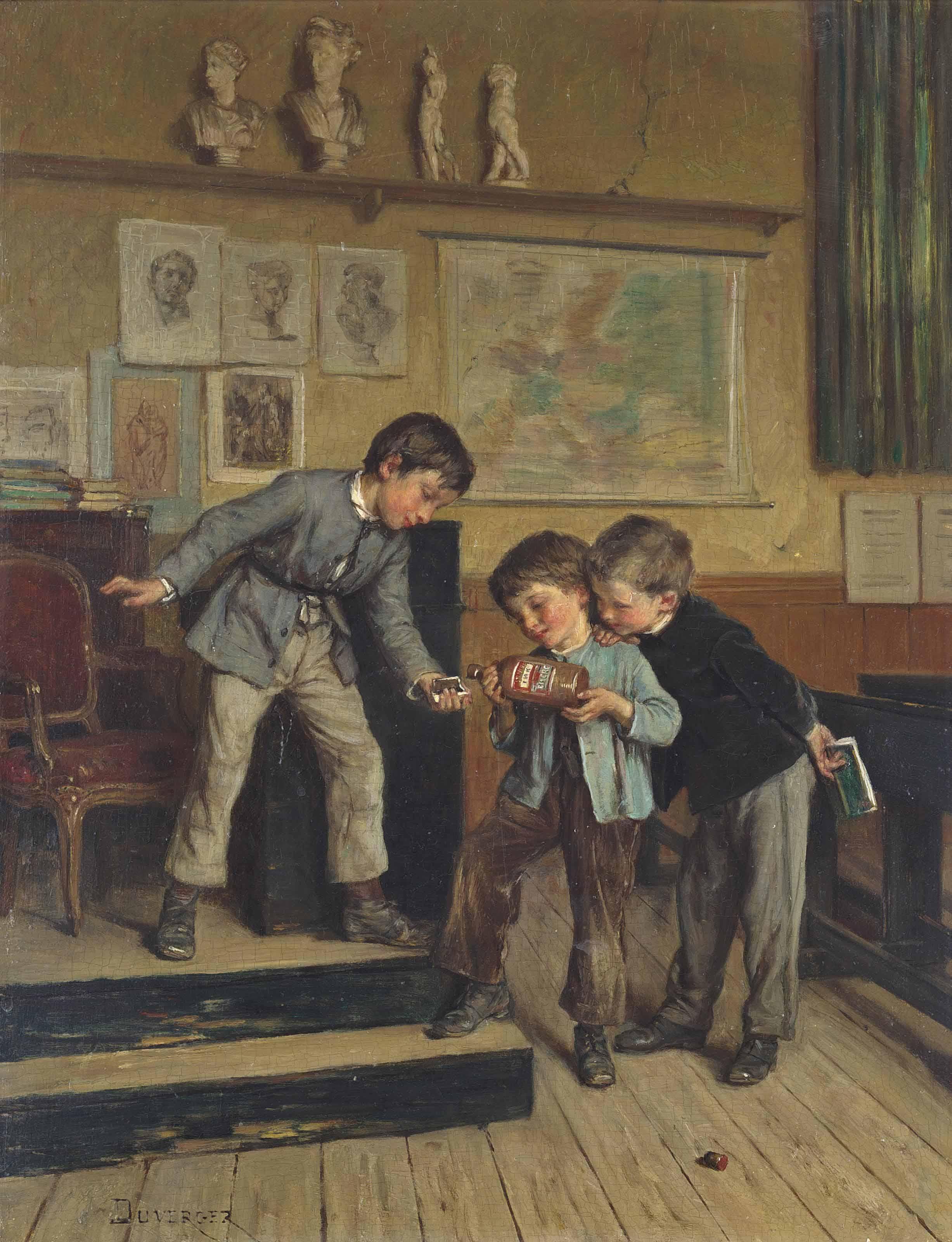 Théophile-Emmanuel Duverger (F