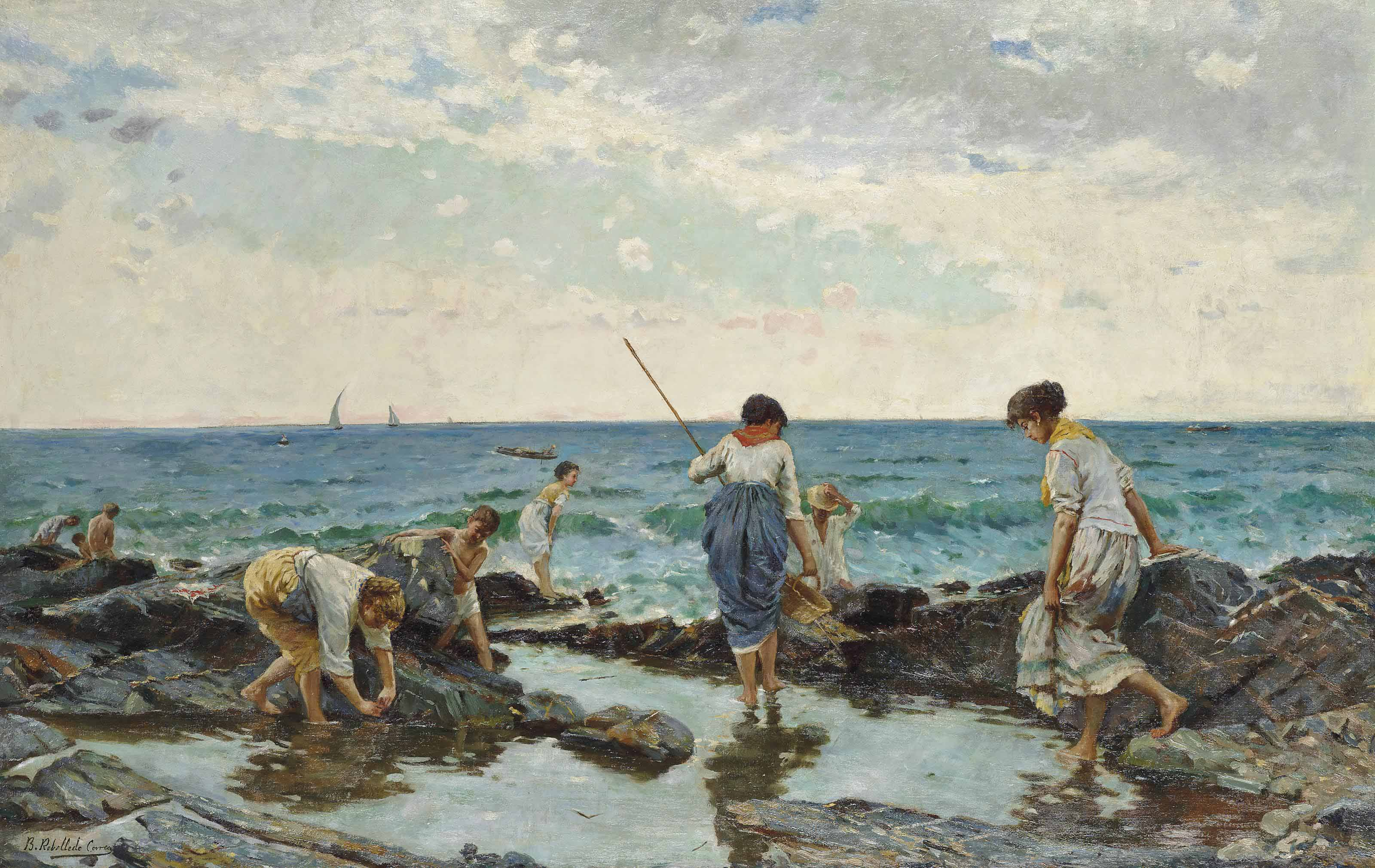 The mussel pickers