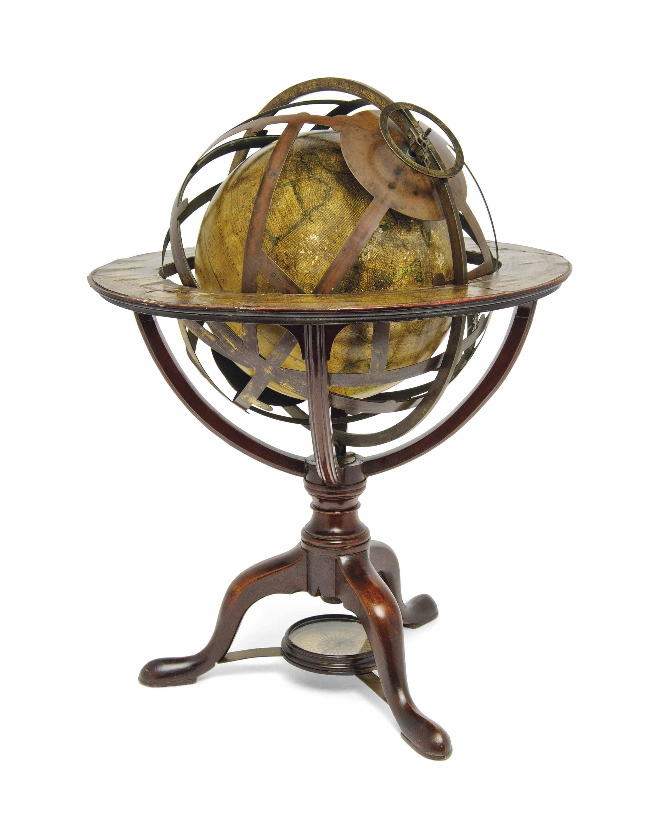 An English 15-inch Armillary Sphere