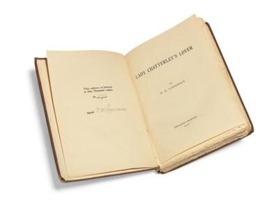LAWRENCE, D.H. (1885-1930). La
